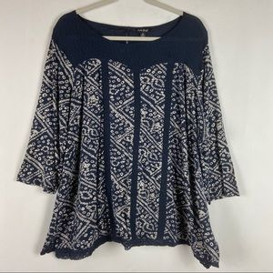 Lucky Brand Plus Size Blouse